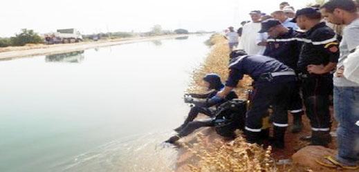 وفاة طفلة في مقتبل العمر غرقا بقناة للري في جماعة أولاد ستوت