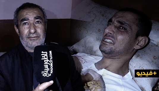 """علال كوراري يناشد المحسنين مساعدته على التكفل بمصاريف علاج ابنه المريض ب""""القلب والشلل"""""""