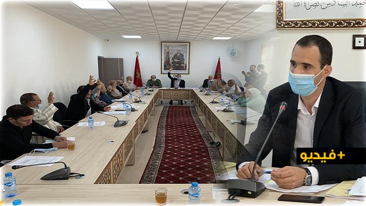 مجلس جماعة بوعرك يصادق بالإجماع على نقط جدول أعمال دورة أكتوبر