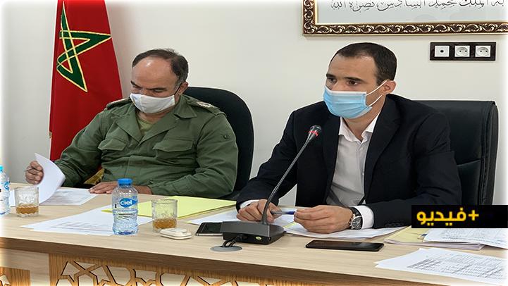 محمادي توحتوح يقدم عرضا حول تقرير المجلس الجهوي للحسابات يتعلق بتسيير جماعة بوعرك
