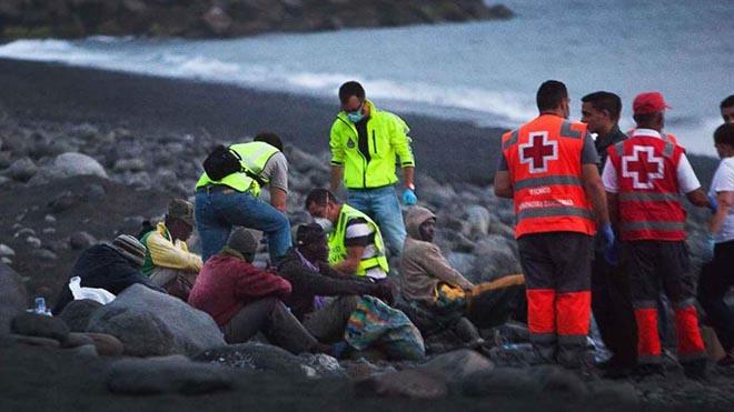وصول أزيد من 1000 مهاجر من المغرب وجنوب الصّحراء إلى جزر الكناري خلال يومين