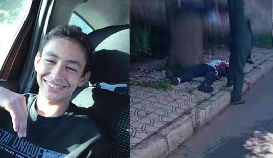 مؤلم.. مقتل تلميذ في جريمة مروعة وعناصر الأمن تعتقل الجاني في زمن قياسي