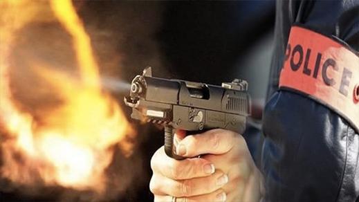 شرطي يطلق الرصاص لإيقاف شخص عرض حياة المواطنين للخطر