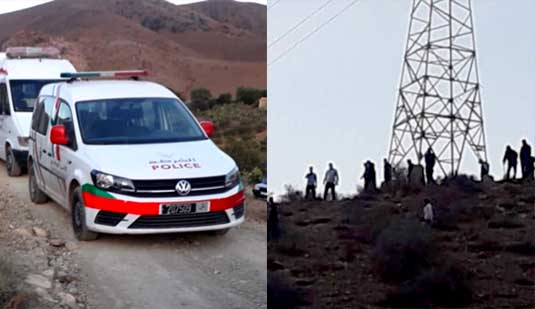 العثور على جثة شاب بمنطقة جبلية بمدينة زايو يستنفر السلطات الأمنية والمحلية