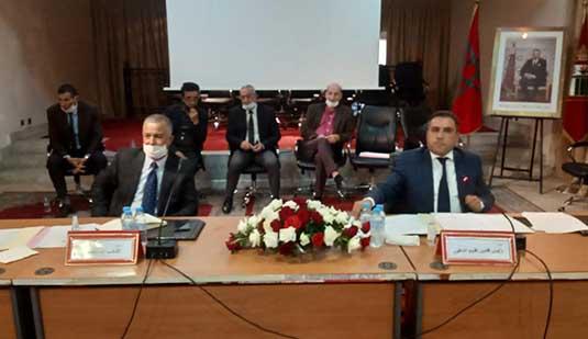 المجلس الإقليمي يعقد دورة إستثنائية لتعبئة إعتمادات مالية لإستكمال بناء القاعة المغطاة بأزغنغان