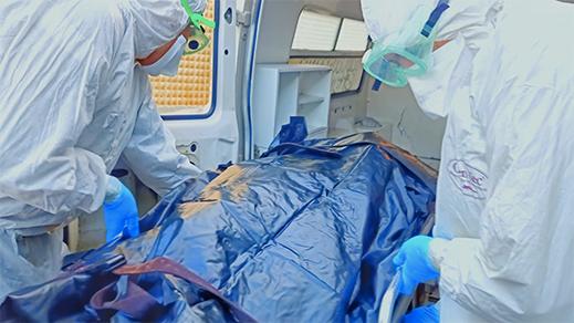 الناظور.. 27 حالة وفاة بسبب كورونا منذ بداية الجائحة