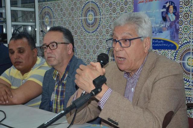 العبوضي يقدم استقالته من الامانة الجهوية للاتحاد المغربي للشغل بالناظور