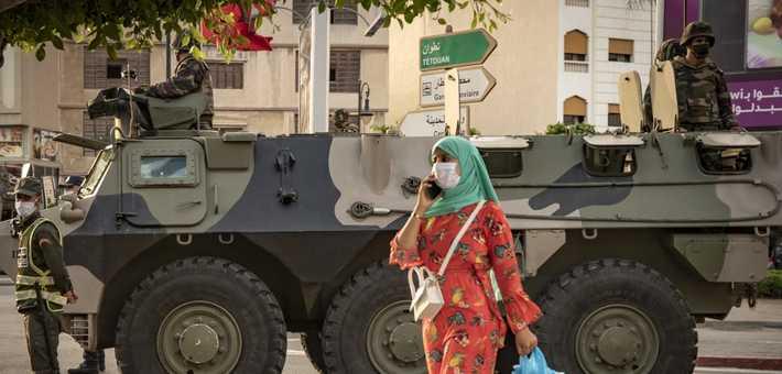 """الجيش ينزل مجددا إلى شوارع العاصمة الاقتصادية وتدابير جديدة """"صارمة"""""""