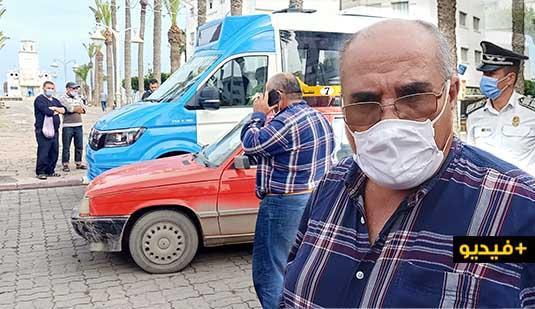 طاكسيات الناظور تحاصر الحافلات الجديدة بسبب تنقلها داخل المدار الحضري