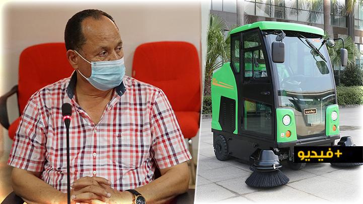 عبد القادر مقدم: يجب على شركة النظافة تغيير وقت كنس الشوارع بالناظور