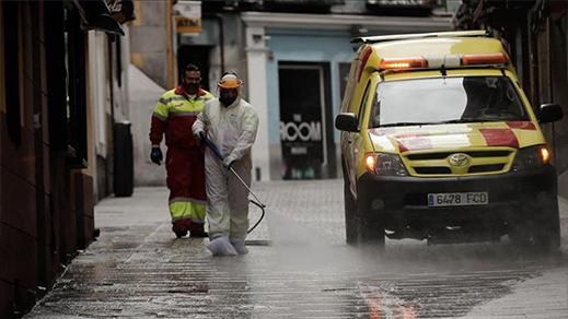 رسميا.. تمديد حالة الطوائ بإسبانيا إلى غاية ماي القادم وسط إغلاق عدة مناطق