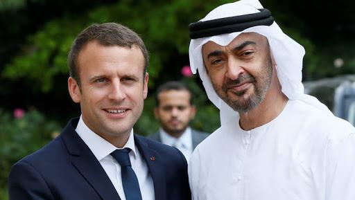 """الإمارات تساند الرئيس الفرنسي وتؤكد أنه """"على حق"""" رغم تهجّمه على الإسلام"""
