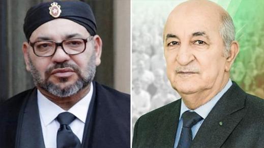 """الملك محمد السادس متأثر لإصابة الرئيس الجزائري """"تبون"""" بفيروس كورونا"""