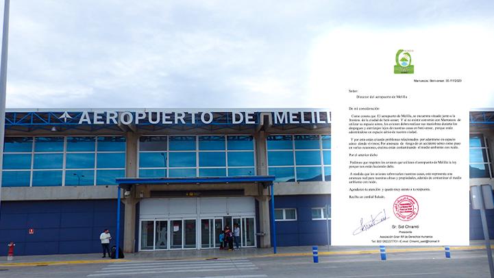 """جمعية حقوقية تستعد لرفع دعوى قضائية ضد مطار مليلية بسبب """"الخطر"""" الذي يشكله على سكان بني أنصار"""