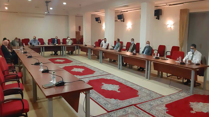 مكتب نقابة الاتحاد المغربي للشغل بالناظور يعقد اجتماعا مع عامل الإقليم وهذا أبرز ما جرى في اللقاء