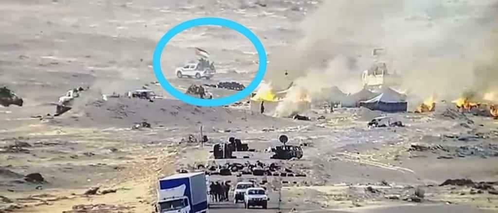 بلاغ: عناصر مسلحة من البوليساريو أطلقت النار على الجنود المغاربة ومعبر الكركرات صار آمنا الآن