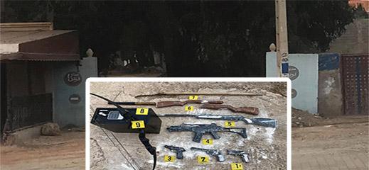 هذه تفاصيل اقتحام الشرطة لفيلا سياسي معروف بالناظور وحجز أسلحة نارية بداخلها