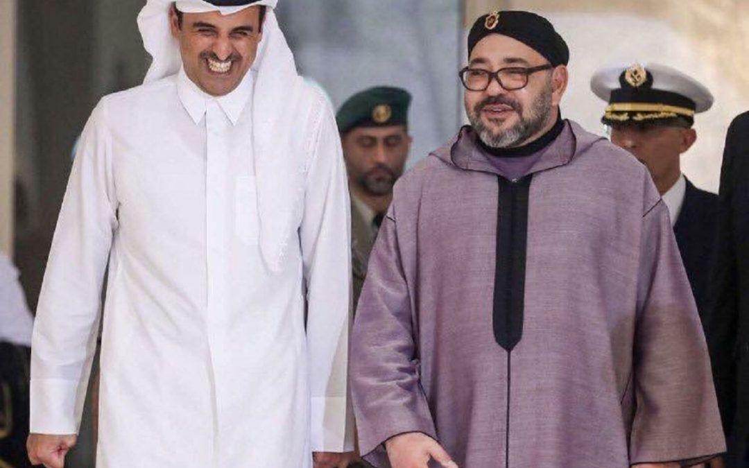 أمير دولة قطر يهنئ الملك محمد السادس ويعلن مساندته لإجراءات الدفاع عن الأراضي المغربية