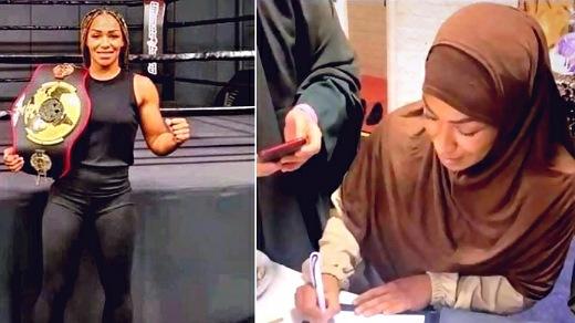 """بطلة الملاكمة الهولندية السابقة """"روبي ميسو"""" تعتنق الإسلام"""