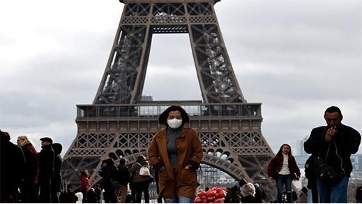 بعد الموجة الثانية.. فرنسا تتجاوز عتبة مليون إصابة بفيروس كورونا