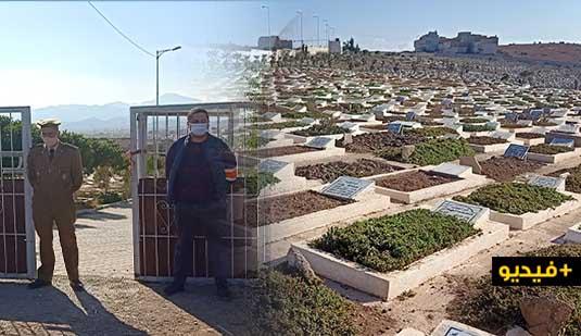 بعد الارتفاع المهول في أعداد المتوفين.. سلطات الناظور تنظم عملية تتبع وتشييع الجنائز بمقبرة سيدي سالم