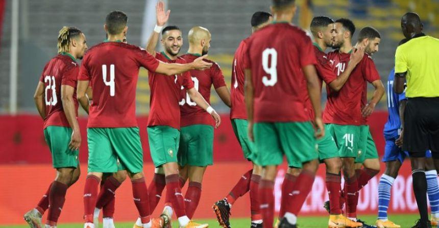 إصابة نجم المنتخب المغربي بفيروس كورونا المستجدّ بعد مباراة إفريقيا الوسطى
