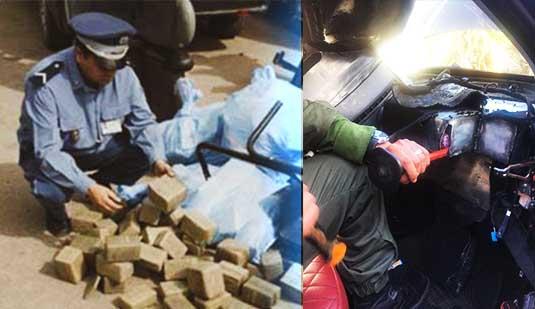 جمارك الناظور تضرب بقوة مرة أخرى وتحجز 200 كلغ من مخدر الشيرا داخل سيارة نفعية بميناء بني أنصار
