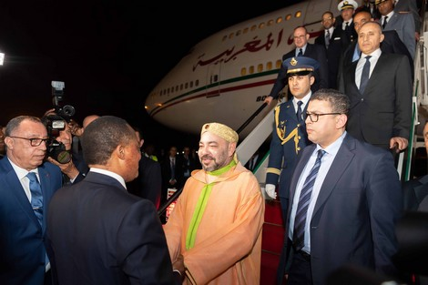 بلاغ للديوان الملكي حول اتصال هاتفي بين الملك محمد السادس ورئيس موريتانيا