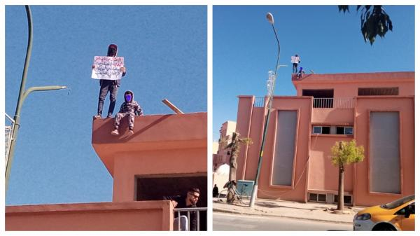بائع جائل يهدّد بالانتحار رفقة طفله من فوق سويقة نموذجية