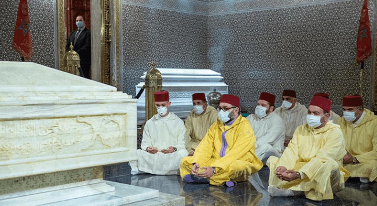 في ذكرى وفاته.. الملك محمد السادس يترحم على روح جلالة المغفور له الملك الحسن الثاني