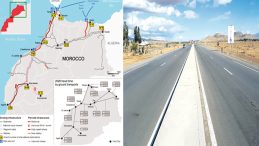 انطلاق ربط الناظور وميناء غرب المتوسط بالطريق السيار بكلفة 576 مليارا