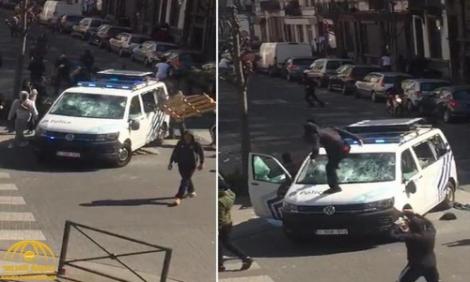 قضية المغربي عادل.. اشتباكات بين محتجين والشرطة تنتهي باعتقال 20 شخصا ببروكسيل