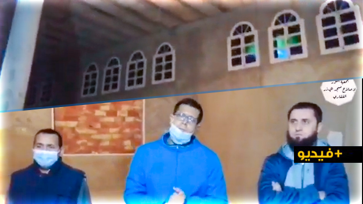 """جمعية النور توجه  نداء من أجل المساهمة في إتمام أشغال بناء مسجد """"أبي ذر الغفاري"""" ببني يويفرر"""