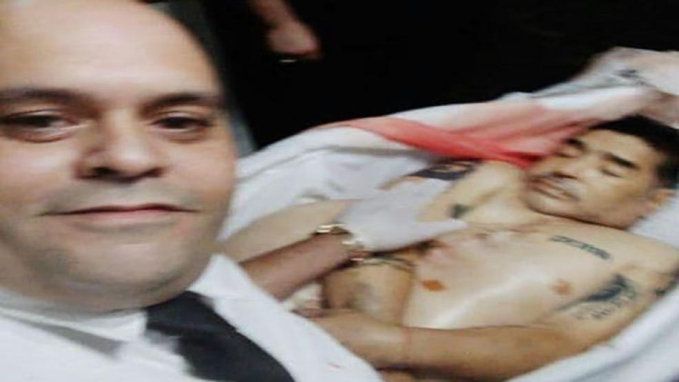 """اغتيال مغسل """"مارادونا"""" بسبب التقاط صورة مع جثته"""