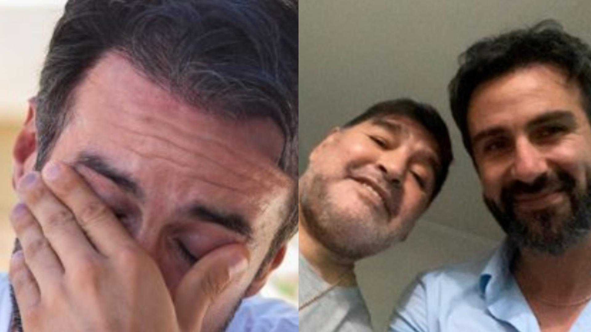 طبيب مارادونا يكشف : لم يكن من الممكن السيطرة على الأسطورة.. كان حزينا ورفض إنقاذه