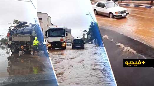 الأمطار تفضح المشاريع المغشوشة بالناظور.. هل سيُحَاسَبُ المسؤولون؟