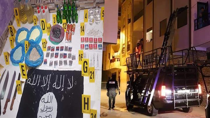 تفكيك خلية إرهابية موالية لداعش وتوقيف ثلاثة متطرفين يشتبه في ارتباطهم بالتنظيم