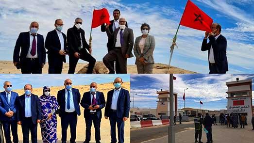ضمنهم برلماني الدريوش عبد الله البوكيلي.. وفد برلماني رفيع يقوم بزيارة دعم للعيون والداخلة ومعبر الكركرات