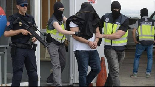 بعد معلومات دقيقة وفرتها مديرية مراقبة التراب الوطني إعتقال إرهابي خطير بإسبانيا