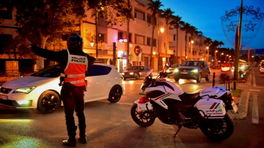 تمديد فرض حظر التنقل ليلا في 4 أقاليم ومدينتين
