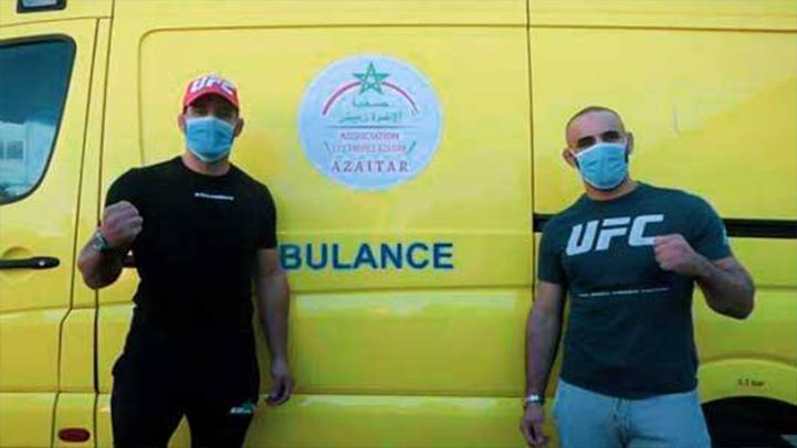 """جمعية المقاتلين العالميين """"أبو زعيتر"""" تقدم هبة لمندوبية وزارة الصحة بإقليم كرسيف"""