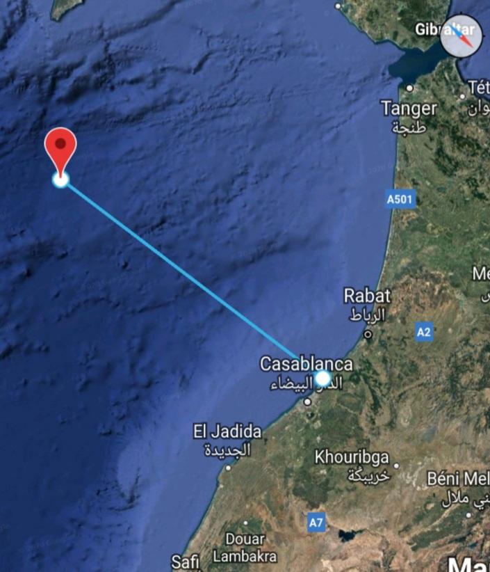 هزة أرضية بقوة 4.7 درجات في المحيط الأطلسي قبالة سواحل الدار البيضاء