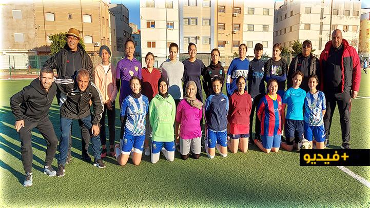 مدرسة طارق للرياضة والثقافة بالناظور تعبر عن تأييدها للتدخل المغربي في الكركرات بطريقتها الخاصة