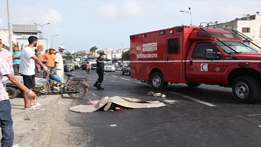 7 قتلى و1644 جريحا حصيلة حوادث السير بالمناطق الحضرية خلال الأسبوع الماضي
