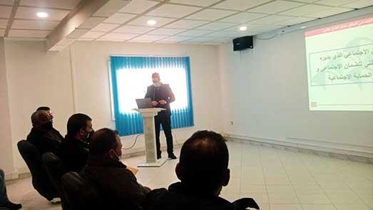 وفد عن الإتحاد المغربي للشغل يجتمع بمدير وأطر وكالة الصندوق الوطني للضمان الإجتماعي بالناظور
