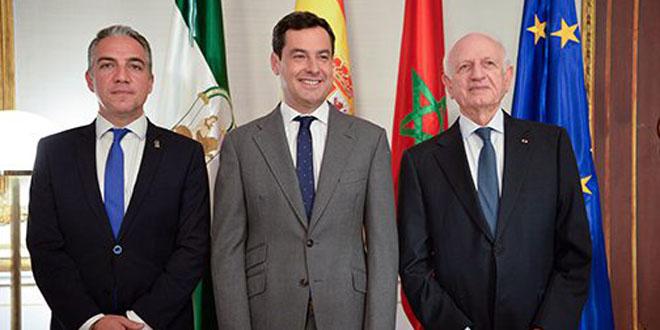 المستشار الملكي أزولاي وعدد من الوزراء في استقبال الوفد الإسرائيلي غدا الثلاثاء