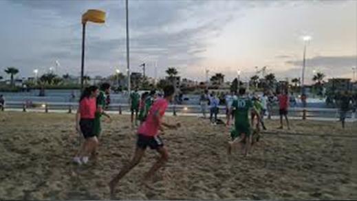 الناظور تحظى بشرف تنظيم بطولة العالم في رياضة الكورفبال الشاطئية