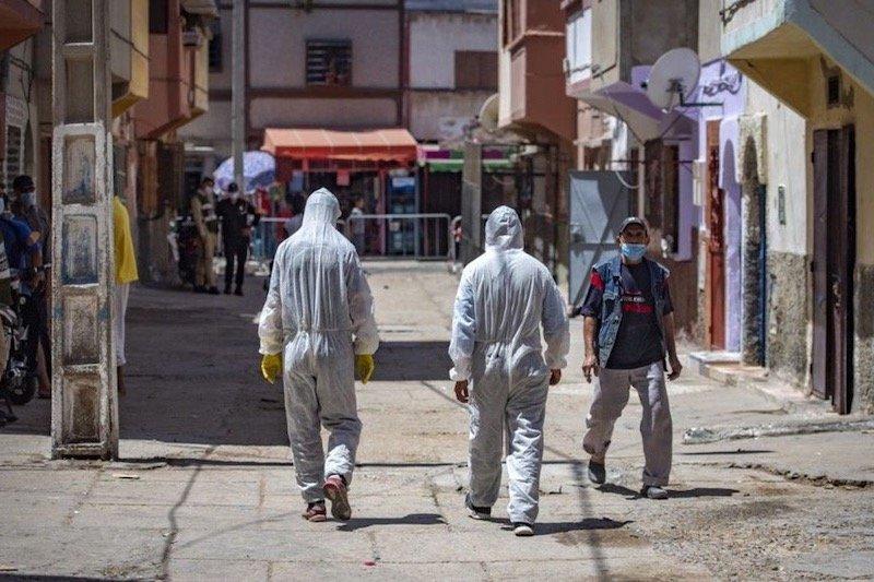 2650 إصابة جديدة بفيروس كورونا خلال 24 ساعة في المغرب