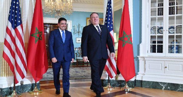 وزير الخارجية الأمريكي يعلن بدء إنشاء قنصلية أمريكية في الصحراء المغربية