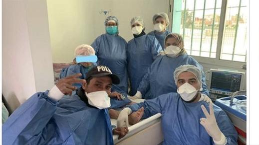 مسنة مغربية تبلغ من العمر 106 سنوات تشفى من فيروس كورونا المستجد